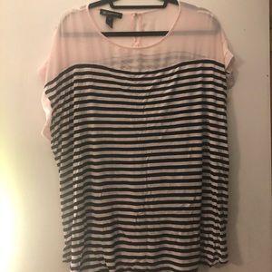Cute semi sheer blouse